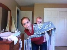 How to do a Back Wrap Cross Carry (BWCC) with a woven wrap. Wrap in video is a Didymos 2007 Pfau size Woven Wrap Carries, Baby Wearing Wrap, Baby Carrying, Baby Wrap Carrier, Baby Blessing, Second Pregnancy, Baby Wraps, Everything Baby, Twin Babies