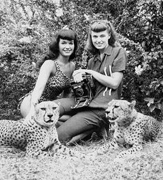 The pairing of pinup Bettie Page and shutterbug Bunnie Yeager was a deadly one-two punch combining beauty and brains. It was Bettie Page's trademark black baby bangs, blue eyes, and red lips that are seared on our mind's eye– but Yeager deserves a lot of credit for the photographic talent behind many of Page's most memorable shots. Together they undoubtedly created some of the most iconic, influential, and titillating pin-up images ever that paved the way for the countless female models…