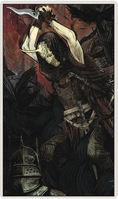 DA inquisition - tarot card