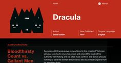 This study guide and infographic for Bram Stoker's Dracula offer summary and analysis on themes, symbols, and other literary devices found in the text. Explore Course Hero's library of literature materials, including documents, Q&A pairs, and flashcards created by students and educators.