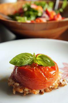 Greek stuffed tomatoes -gemista - γεμιστά