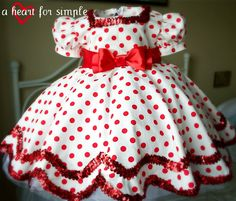 shirle temple dress | Mommy by day Crafter by night: Top 12 for So You Think You Can Sew ...