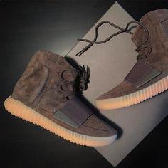d1c58fb25a922 adidas Yeezy BOOST 750 Chocolate Runway Fashion