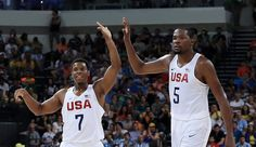United States Men's Olympic Basketball: Bend-Don't-Break U.S…