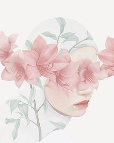 this isn't happiness™ (Flora and fauna, Hsiao-Ron Cheng), Peteski, Winx Club Art And Illustration, Hijab Drawing, Moslem, Islamic Cartoon, Flora Und Fauna, Anime Muslim, Hijab Cartoon, Whatsapp Wallpaper, Anime Art Girl