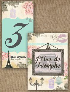 Parisian invitations