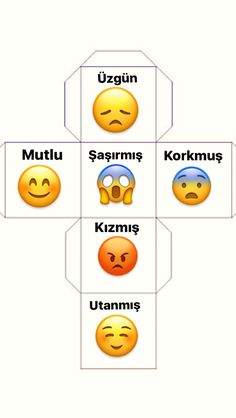 The emotional membrane. Emotions Cards, Feelings And Emotions, Infant Activities, Activities For Kids, Autism Preschool, Emotional Abandonment, Turkish Lessons, Learn Turkish Language, Hidden Pictures