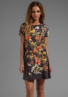 SOMEDAYS LOVIN Botanic Print Tee Dress in Multi - Dresses. note to self buy this dress!!!!