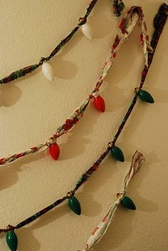 Jill Ruth & Co.: Vintage Christmas Light Garland