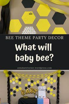 3 x Bugs 1st Fête Honeycomb Décorations Centre de Table Bébé Garçons Fête D/'Anniversaire