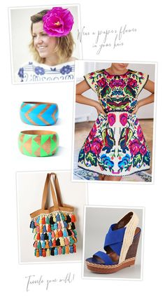 A little fiesta fashion inspiration for ya just in time for Cinco de Mayo!