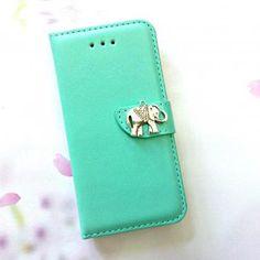 Vind het iPhone hoesje van leer waar jij naar op zoek bent  - #vintage leather iphone case | Elephant leather iPhone Case. - http://ledereniphonehoesjes.nl/slimme-iphone-6-hoesjes/