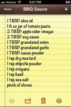 Use coconut amino instead of soy sauce. Sugar Free BBQ Sauce Recipe - Lactose and Gluten Free - BPM.tv
