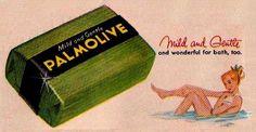 Le savon Palmolive. Un parfum qui devrait appartenir au patrimoine de l'Unesco :-)