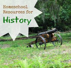Homeschool Resources – History #sponsored