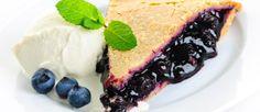 Obstkuchen mit Blaubeeren