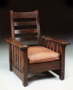 Chapter 18 Shingle Style and American Arts and crafts: Gustav Stickley chair, American Arts and Crafts
