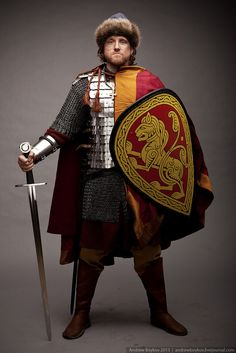 Russian medieval Grand Prince, reconstruction #history