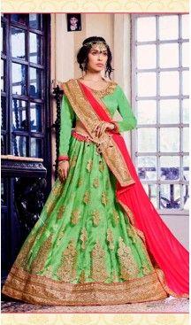 Embroidery Traditional Wear Lehenga Choli in Net and Parrot Green Color | FH531780368 >>>>>> Follow Us @heenastyle <<<<<<< --------------------------------------------------------- #styleinspiration #onlineboutique #boutiquefashion #boutiquestyle #boutiqueclothing #fashionphotography #lookbook #design #fashiontrends #fashiondesign #fashionmodel #fashionwa #potd #summer #springwedding #tuxedo #purplesuit #purple #maroonwedding  #lehengacholi #lehenga #indiancloth #heenastyle