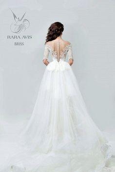 Wedding dress BRISS bridal dress wedding by RaraAvisAngeEtoiles