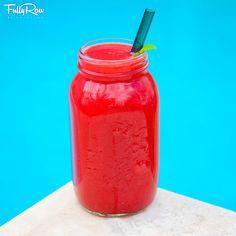 FullyRaw Blood Orange Mint-Infused Juice! A REFRESH-MINT!