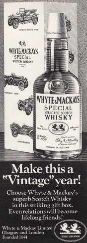 Whyte & Mackays Whisky May '72 #70sadverts