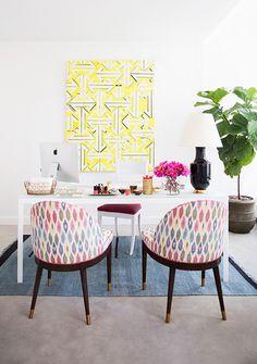 home office // Domino Magazine