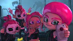 Veemo selfie squad by on DeviantArt Splatoon 2 Game, Splatoon Squid, Splatoon Memes, Nintendo Splatoon, Splatoon Comics, Squid Games, Kawaii Cute, Best Games, Game Art