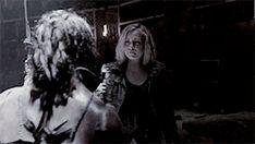 Clarke and Octavia reunite.