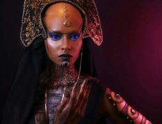 Bene Gesserit Sister inspired by Frank Herbert's Dune.