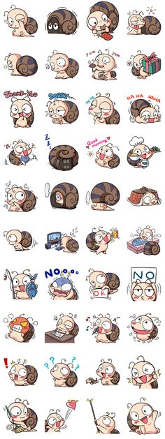 Tumurin the adorable snail will charm you with his adorable shell!