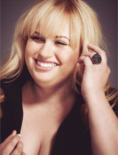 Rebel Wilson. I don't care what anyone else says. I think she is very attractive! <3