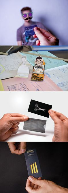 20 Coolest Business Cards That Get Remembered – Bashooka