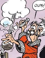 Pacôme de champignac est un scientifique présent dans la bd spirou  Il es connu pour ses expérience bizarre. On pourrait le comparer a un savant fou. Il aide souvent spirou et fantasio dans leur aventure #Lilian