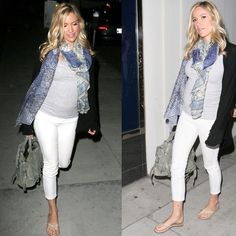 Celebrity Pregnancy Style - Get The Look of Kristin Cavallari « Blossom BlogBlossom Blog. 7 for all man kind maternity jeans