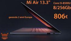 Offerta - Xiaomi Notebook Air 13.3 Core i5-8500U 8/256 Gb a 806€ con 2 anni di garanzia Europa spedizione no dogana inclusa! #Xiaomi #133 #CoreI7 #Laptop #NotebookAir13 #Offerta #Xiaomi https://www.xiaomitoday.it/?p=34579