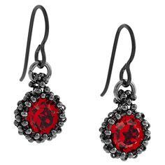 Red Baubles Earrings | Fusion Beads Inspiration Gallery
