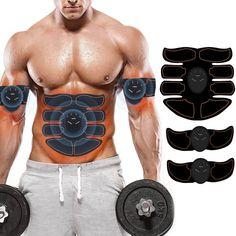EMS Elektrische Muskel ABS Simulator Trainingsgerät Gear ABS Bauchmuskel Fit Pad