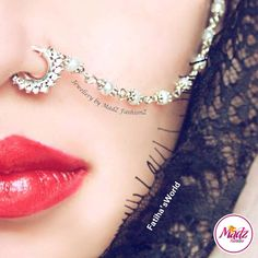 Body Jewelry Constructive Black Nose Stud White Gold Nose Stud Indian Nose Ring Silver Nose Piercing