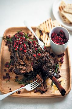 Slow-roasted Easter leg of lamb with pomegranate and rosemary is the perfect dish for your traditional Sunday lunch. Hearty, tender and mouthwatering.