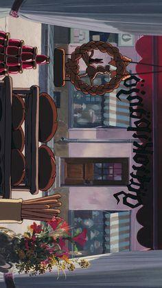 Wallpaper Wa, Scenery Wallpaper, Tumblr Wallpaper, Studio Ghibli Art, Studio Ghibli Movies, Cute Cartoon Wallpapers, Animes Wallpapers, Iphone Wallpapers, Studio Ghibli Background