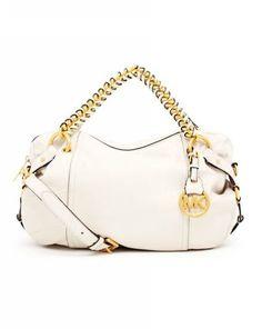 Michael Kors Skorpios Large Shoulder Bag Cinnamon Textured Leather 23