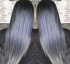 Blue Denim Hair Colors: Blue Jean Rocker