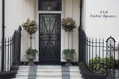 Eaton Square front door