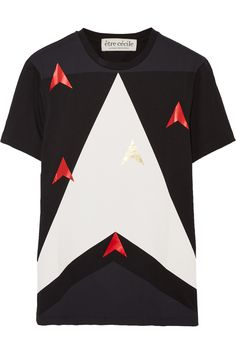 Galactica printed cotton-jersey T-shirt | THE OUTNET