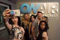 Fifth Harmony and Ryan Seacrest