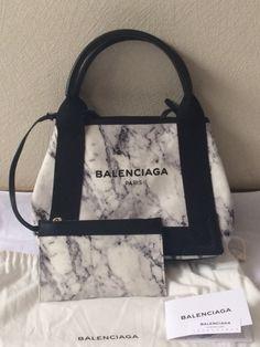 2016新色 BALENCIAGA バレンシアガ トートバッグ コピー キャンバストートXS 人気の マーブル 6060309