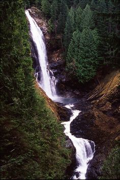 Wallace Falls State Park,Washington