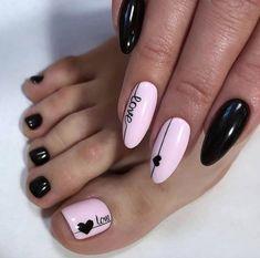 Discover new and inspirational nail art for your short nail designs. Pink Nail Art, Cute Acrylic Nails, Valentine's Day Nail Designs, Acrylic Nail Designs, Nail Designs Spring, Trendy Nail Art, Stylish Nails, Heart Nails, Nagel Gel