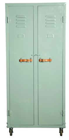 Vintage Mint Locker from Artilleriet, office, office furniture, locker, mint… Kids Furniture, Office Furniture, Vintage Lockers, Metal Lockers, Deco Kids, Student Room, Industrial Chic, Industrial Storage, New Room